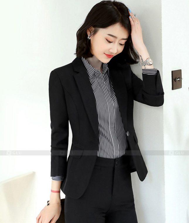 Ao Vest Dong Phuc Cong So GLU 402 áo sơ mi nữ đồng phục công sở