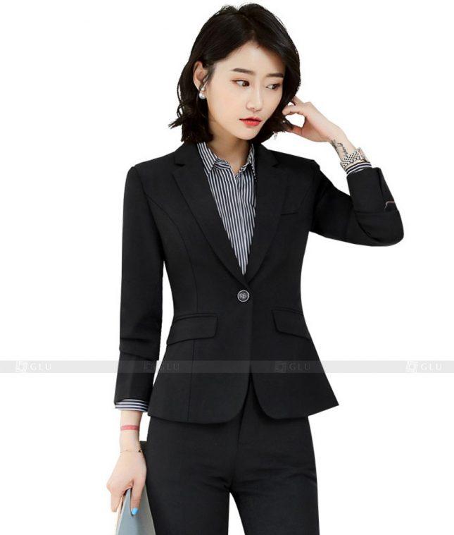 Ao Vest Dong Phuc Cong So GLU 403 áo sơ mi nữ đồng phục công sở