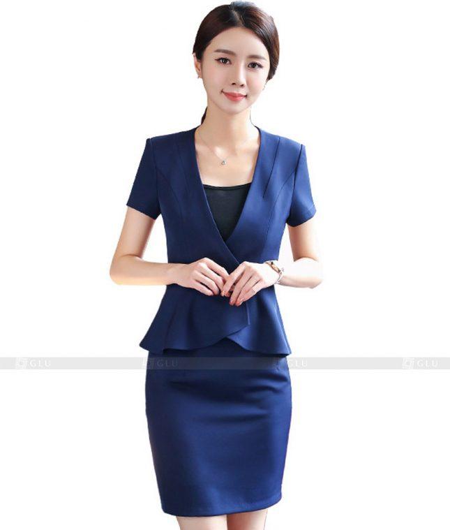 Ao Vest Dong Phuc Cong So GLU 404 áo sơ mi nữ đồng phục công sở