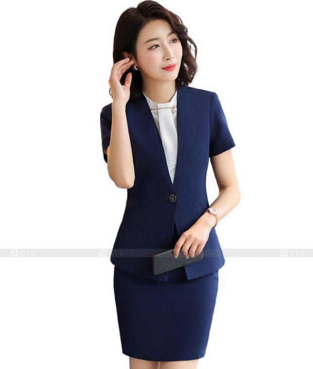 Ao Vest Dong Phuc Cong So GLU 405 áo sơ mi nữ đồng phục công sở