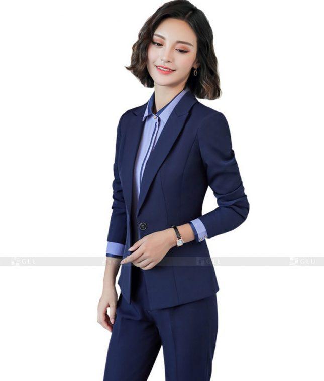 Ao Vest Dong Phuc Cong So GLU 406 áo sơ mi nữ đồng phục công sở
