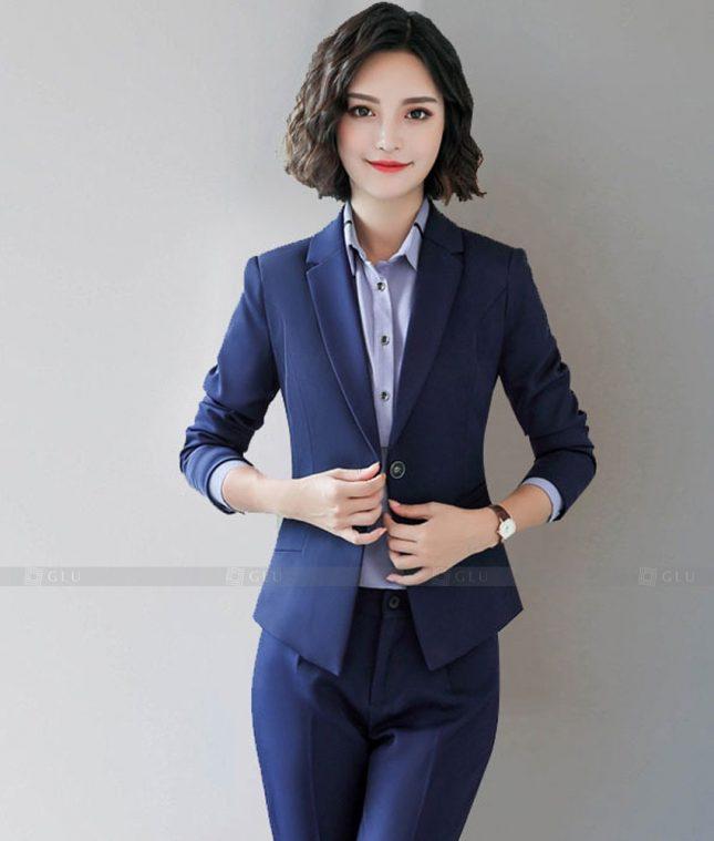 Ao Vest Dong Phuc Cong So GLU 408 áo sơ mi nữ đồng phục công sở