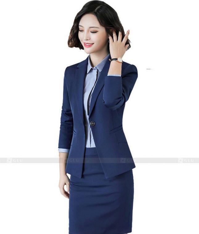 Ao Vest Dong Phuc Cong So GLU 409 áo sơ mi nữ đồng phục công sở