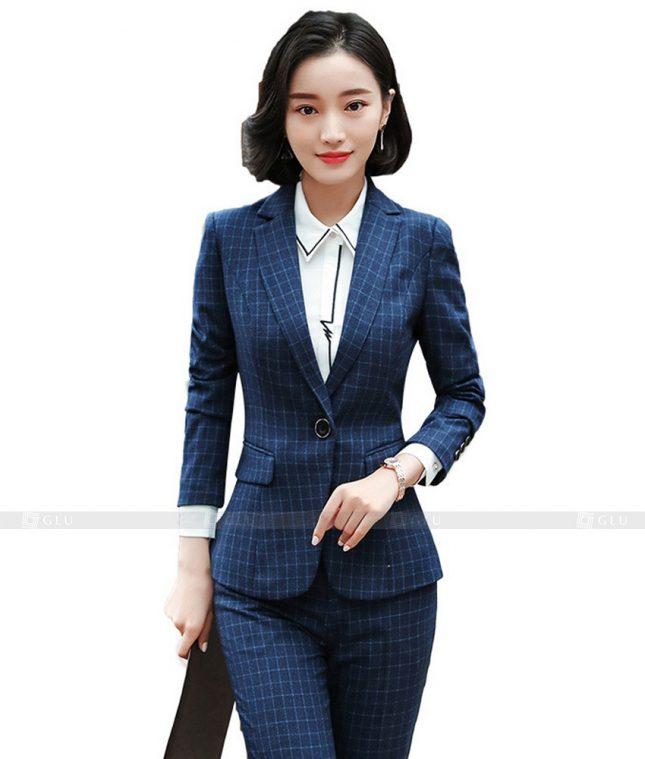 Ao Vest Dong Phuc Cong So GLU 414 áo sơ mi nữ đồng phục công sở