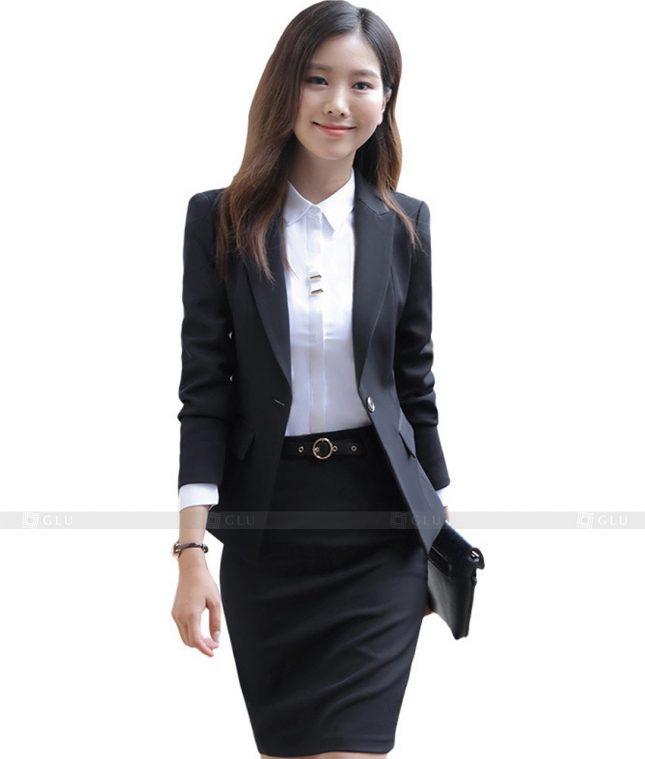 Ao Vest Dong Phuc Cong So GLU 415 áo sơ mi nữ đồng phục công sở