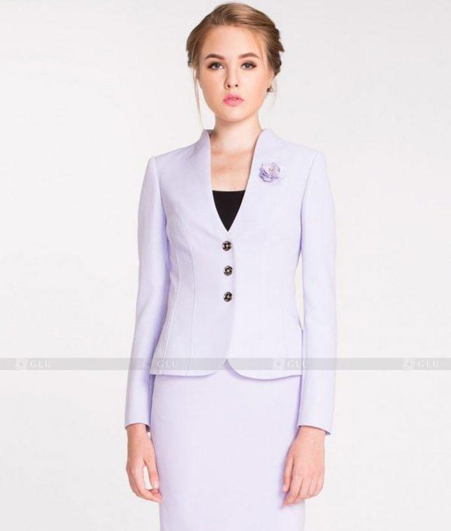 Ao Vest Dong Phuc Cong So GLU 419 áo sơ mi nữ đồng phục công sở