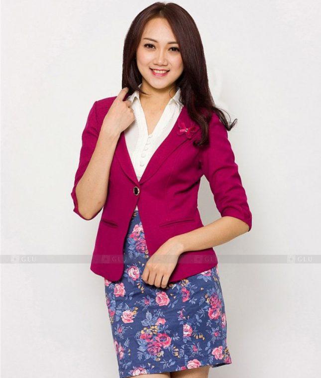 Ao Vest Dong Phuc Cong So GLU 426 áo sơ mi nữ đồng phục công sở