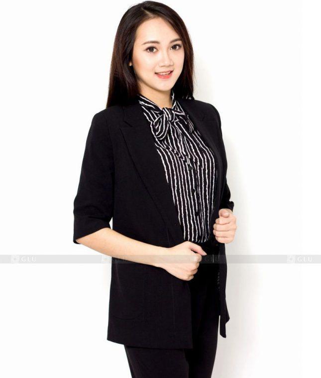 Ao Vest Dong Phuc Cong So GLU 429 áo sơ mi nữ đồng phục công sở