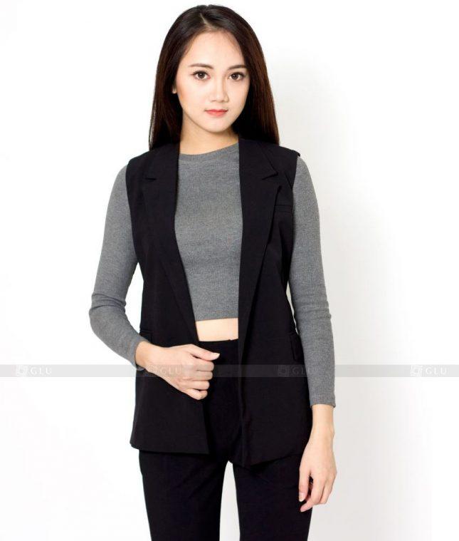 Ao Vest Dong Phuc Cong So GLU 430 áo sơ mi nữ đồng phục công sở