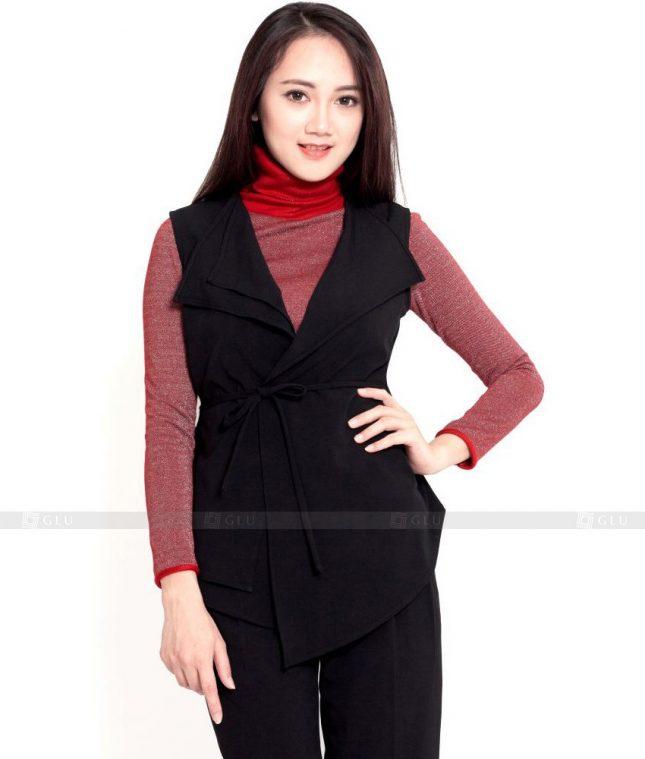 Ao Vest Dong Phuc Cong So GLU 431 áo sơ mi nữ đồng phục công sở