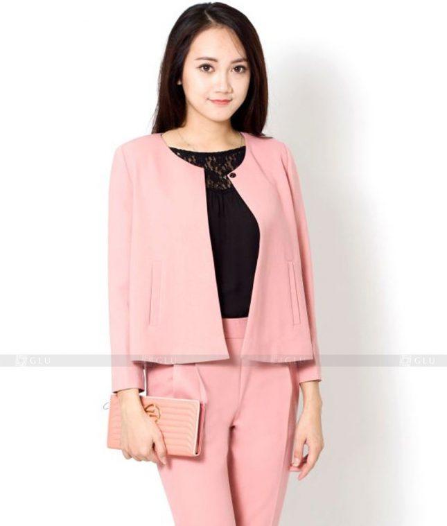 Ao Vest Dong Phuc Cong So GLU 432 áo sơ mi nữ đồng phục công sở