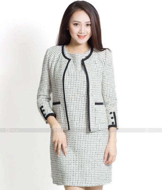 Ao Vest Dong Phuc Cong So GLU 434 áo sơ mi nữ đồng phục công sở