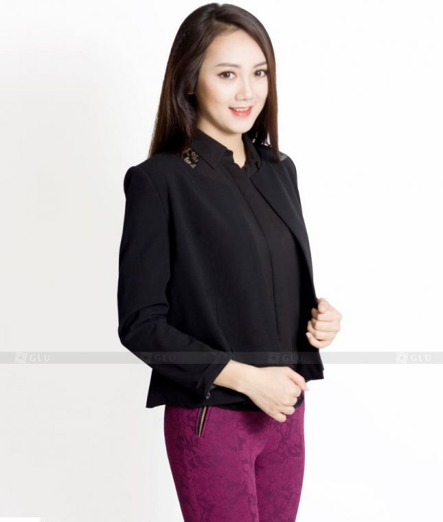 Ao Vest Dong Phuc Cong So GLU 435 áo sơ mi nữ đồng phục công sở