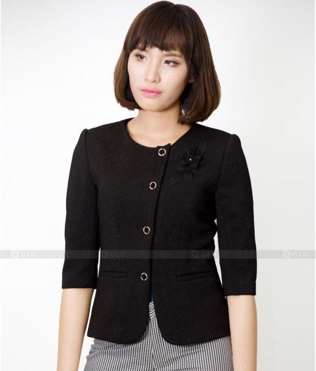 Ao Vest Dong Phuc Cong So GLU 437 áo sơ mi nữ đồng phục công sở