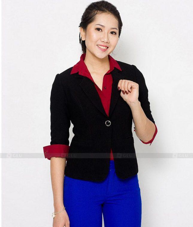 Ao Vest Dong Phuc Cong So GLU 440 áo sơ mi nữ đồng phục công sở