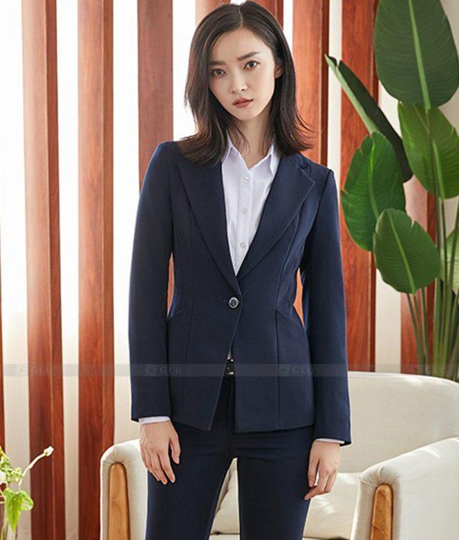 Ao Vest Dong Phuc Cong So GLU 449 áo sơ mi nữ đồng phục công sở