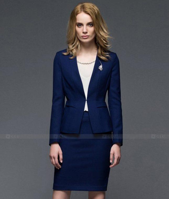 Ao Vest Dong Phuc Cong So GLU 453 áo sơ mi nữ đồng phục công sở