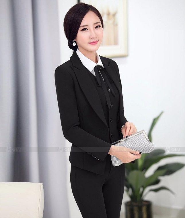 Ao Vest Dong Phuc Cong So GLU 459 áo sơ mi nữ đồng phục công sở