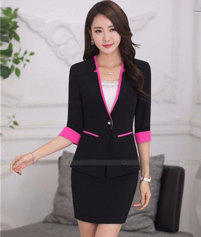 Ao Vest Dong Phuc Cong So GLU 463 áo sơ mi nữ đồng phục công sở