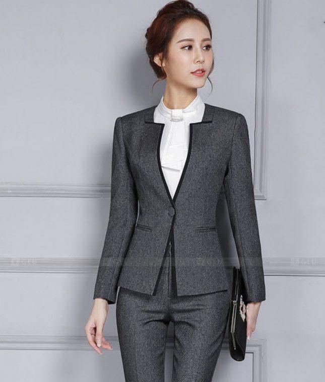 Ao Vest Dong Phuc Cong So GLU 465 áo sơ mi nữ đồng phục công sở