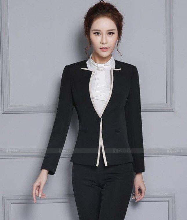 Ao Vest Dong Phuc Cong So GLU 466 áo sơ mi nữ đồng phục công sở