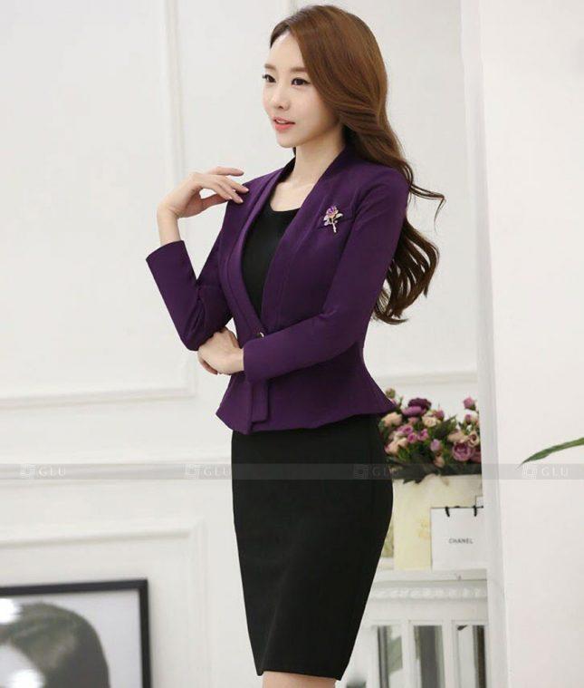 Ao Vest Dong Phuc Cong So GLU 469 áo sơ mi nữ đồng phục công sở