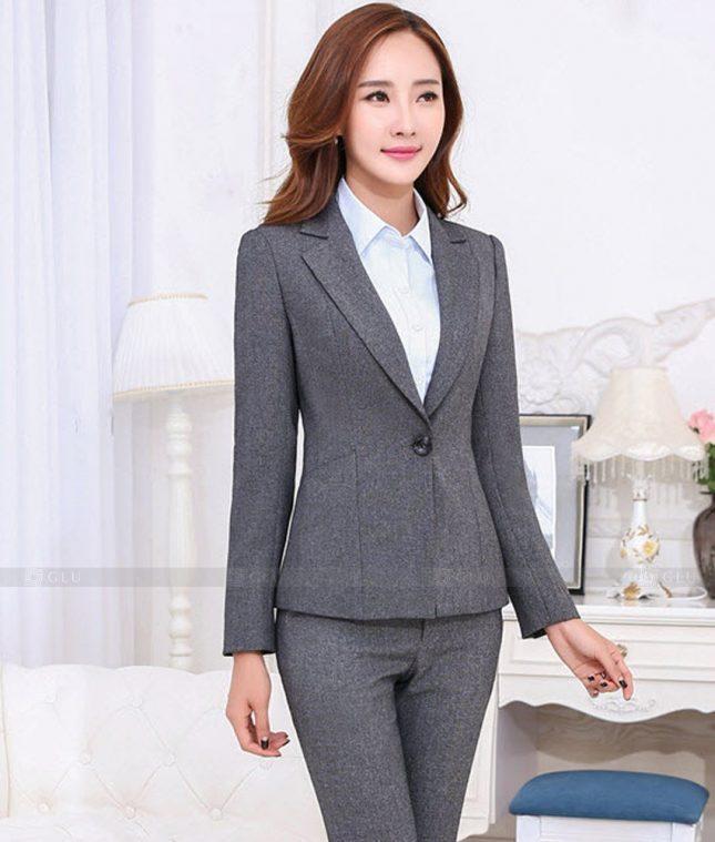 Ao Vest Dong Phuc Cong So GLU 471 áo sơ mi nữ đồng phục công sở