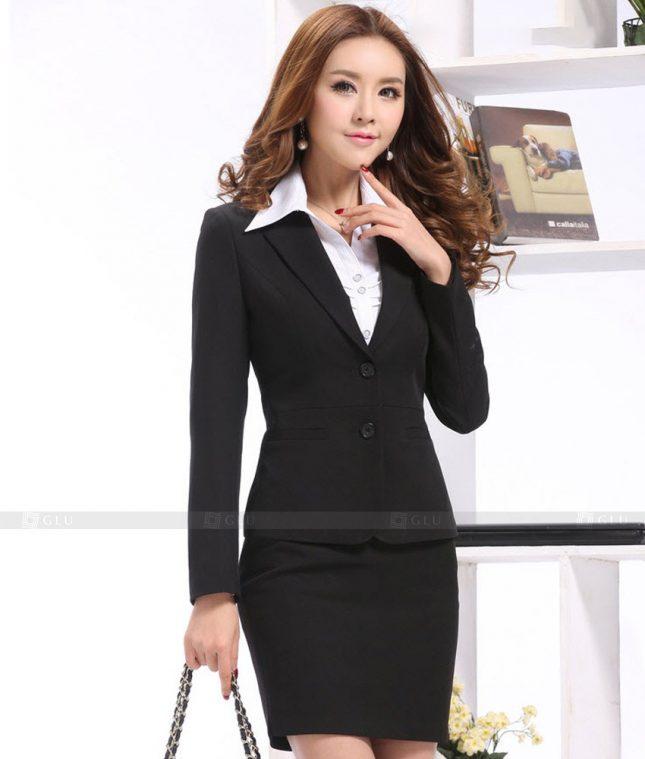Ao Vest Dong Phuc Cong So GLU 472 áo sơ mi nữ đồng phục công sở