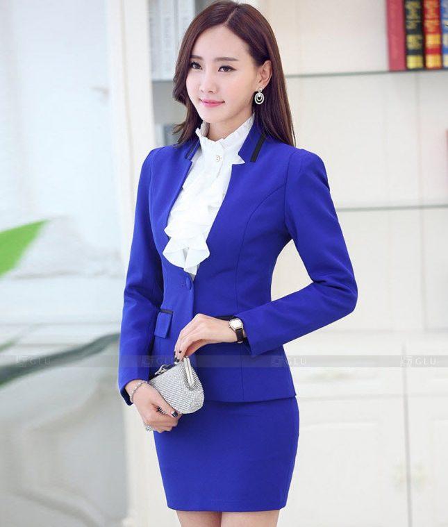Ao Vest Dong Phuc Cong So GLU 474 áo sơ mi nữ đồng phục công sở