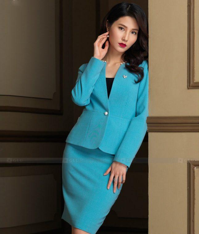 Ao Vest Dong Phuc Cong So GLU 475 áo sơ mi nữ đồng phục công sở