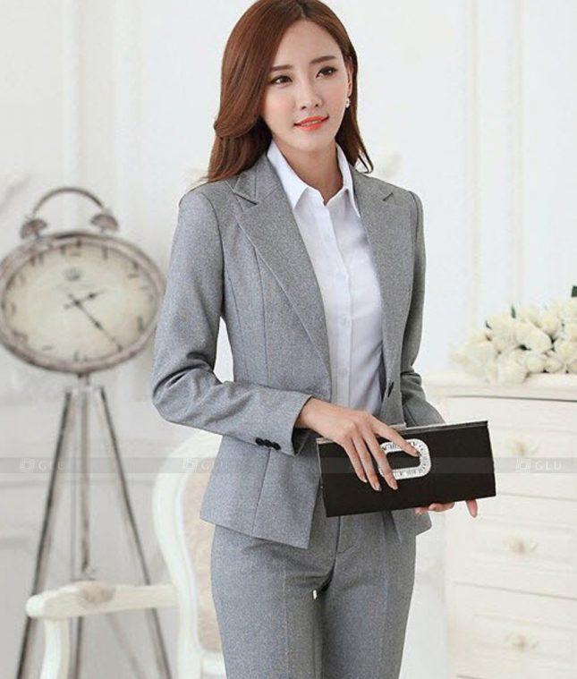 Ao Vest Dong Phuc Cong So GLU 476 áo sơ mi nữ đồng phục công sở
