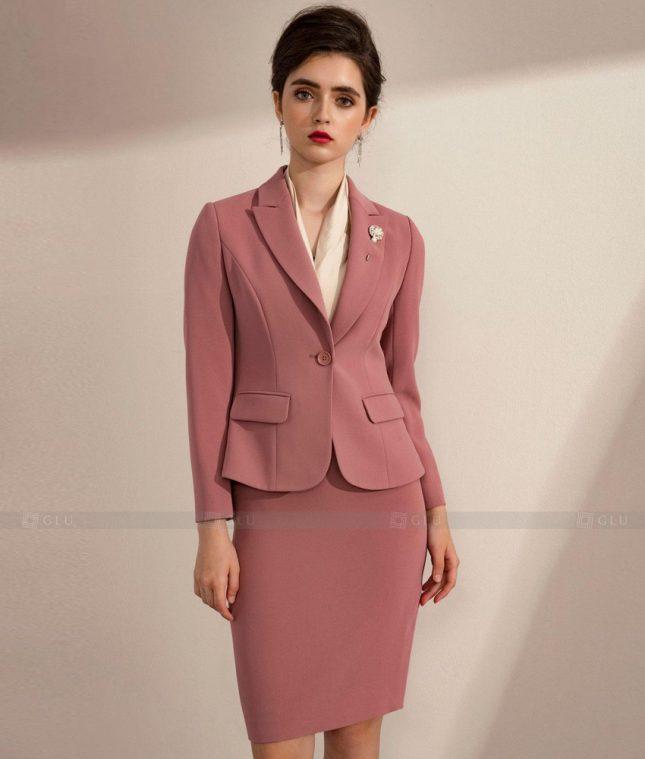 Ao Vest Dong Phuc Cong So GLU 480 áo sơ mi nữ đồng phục công sở
