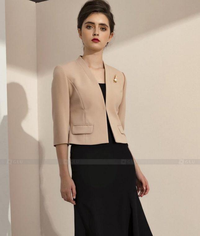 Ao Vest Dong Phuc Cong So GLU 482 áo sơ mi nữ đồng phục công sở