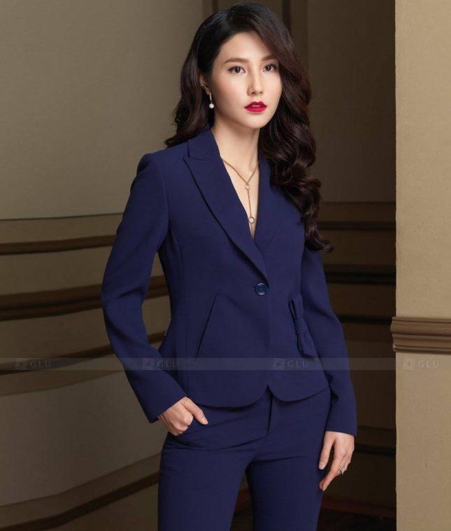 Ao Vest Dong Phuc Cong So GLU 500 áo sơ mi nữ đồng phục công sở