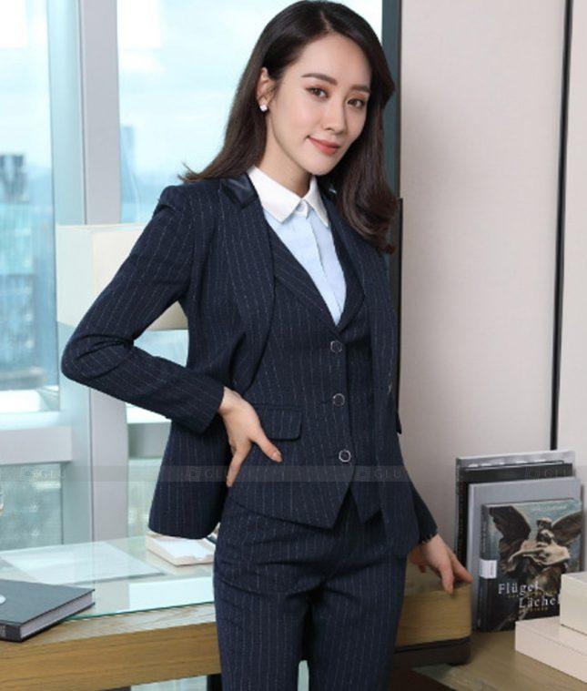 Ao Vest Dong Phuc Cong So GLU 510 áo sơ mi nữ đồng phục công sở