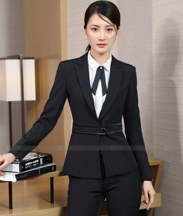 Ao Vest Dong Phuc Cong So GLU 517 áo sơ mi nữ đồng phục công sở