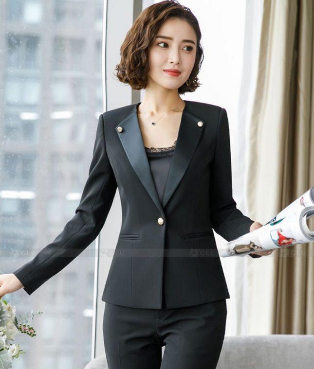 Ao Vest Dong Phuc Cong So GLU 525 áo sơ mi nữ đồng phục công sở