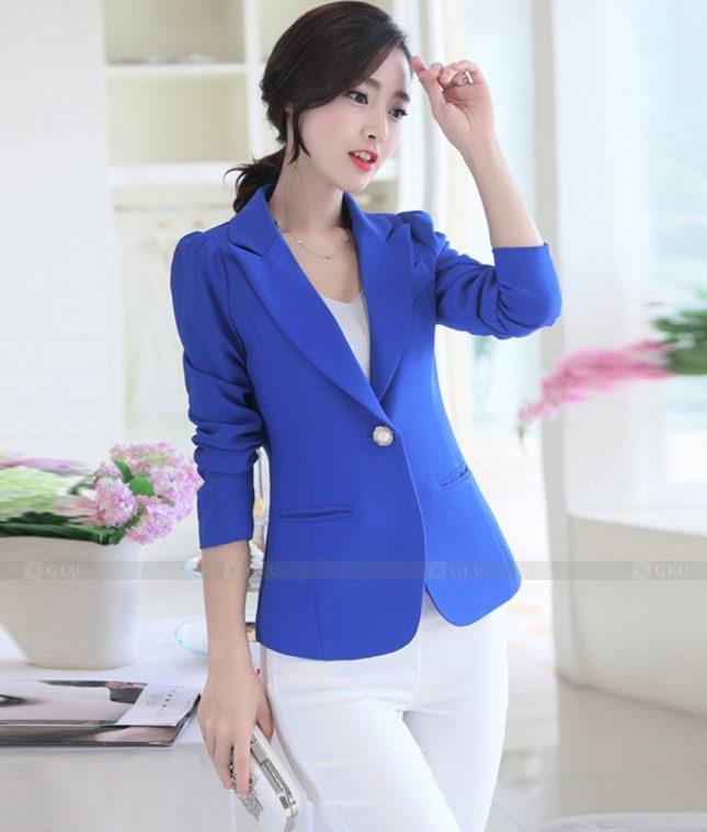 Ao Vest Dong Phuc Cong So GLU 533 áo sơ mi nữ đồng phục công sở