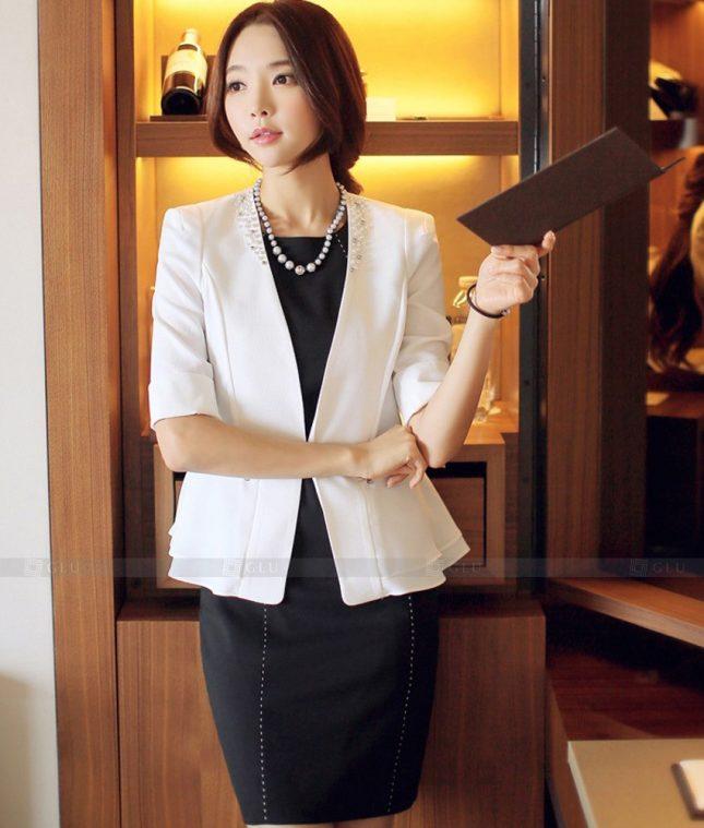 Ao Vest Dong Phuc Cong So GLU 538 áo sơ mi nữ đồng phục công sở