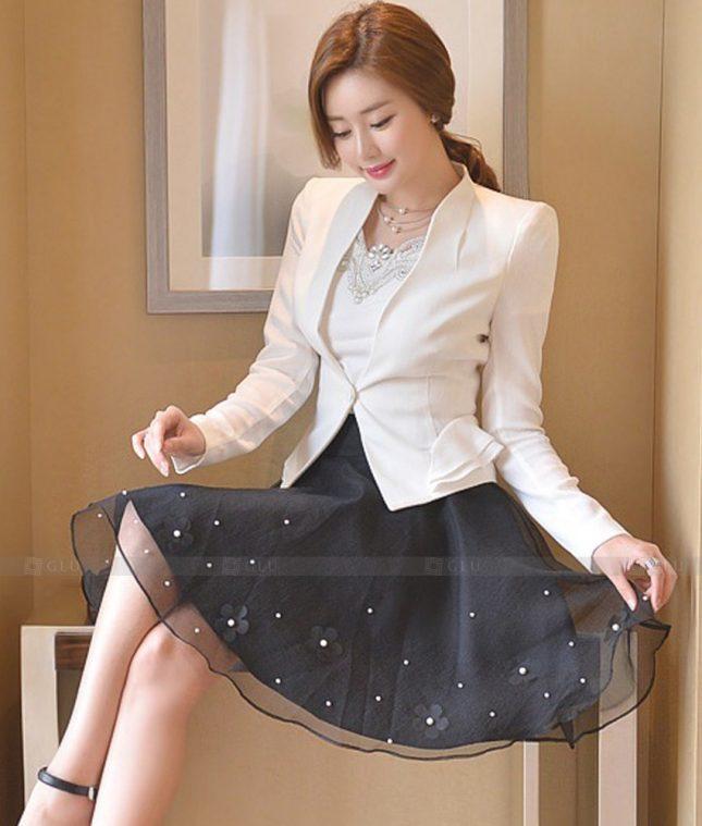 Ao Vest Dong Phuc Cong So GLU 539 áo sơ mi nữ đồng phục công sở