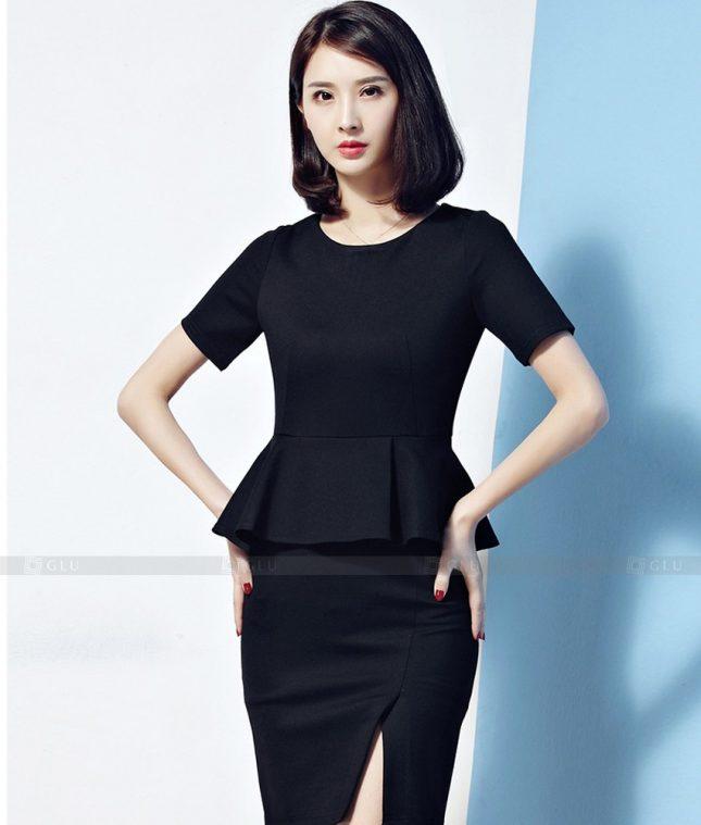 Ao Vest Dong Phuc Cong So GLU 540 áo sơ mi nữ đồng phục công sở