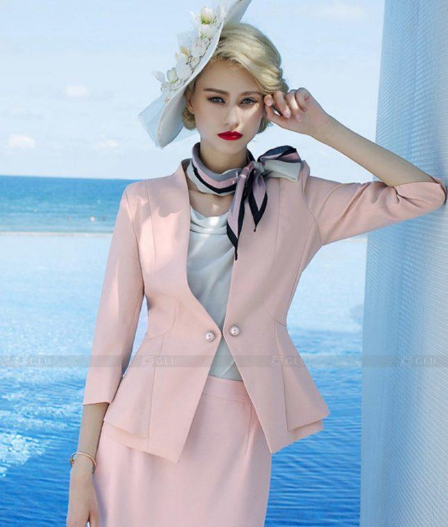 Ao Vest Dong Phuc Cong So GLU 541 áo sơ mi nữ đồng phục công sở