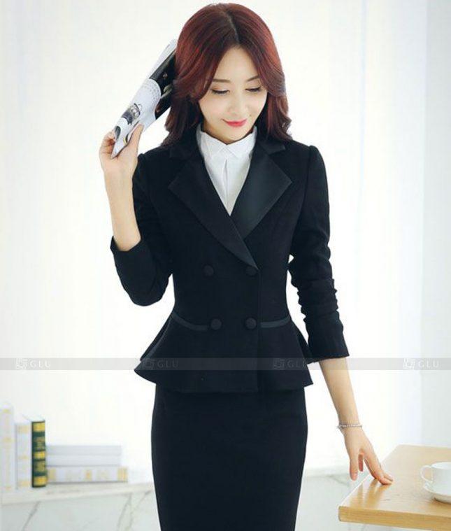 Ao Vest Dong Phuc Cong So GLU 544 áo sơ mi nữ đồng phục công sở