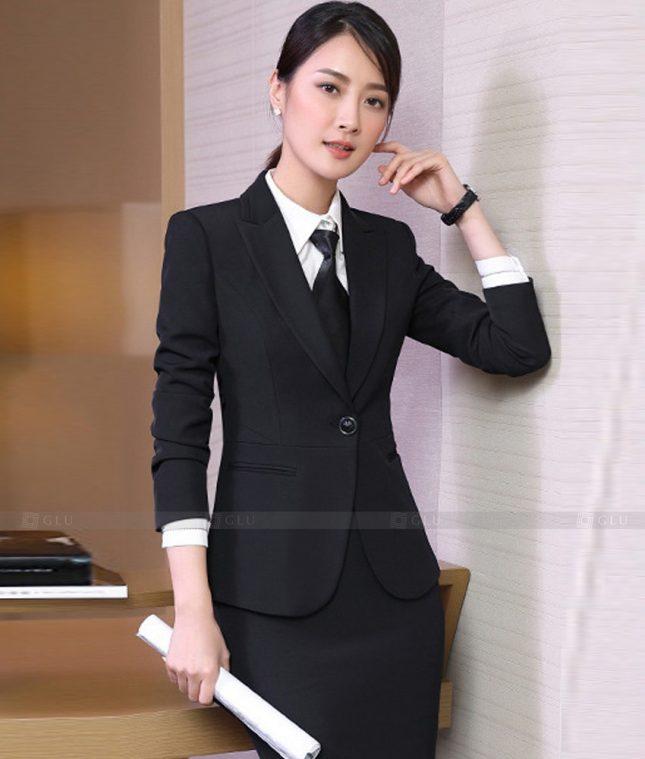 Ao Vest Dong Phuc Cong So GLU 546 áo sơ mi nữ đồng phục công sở