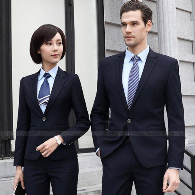 Ao Vest Dong Phuc Cong So GLU 563 áo sơ mi nữ đồng phục công sở