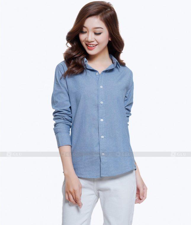Dong Phuc Cong So Nu GS487 áo sơ mi nữ đồng phục công sở