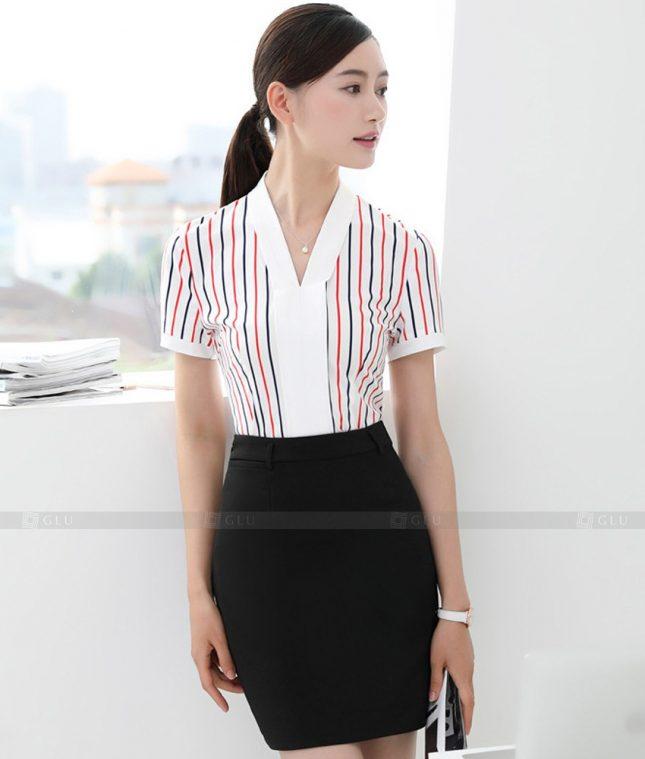 Dong Phuc Cong So Nu GS490 áo sơ mi nữ đồng phục công sở