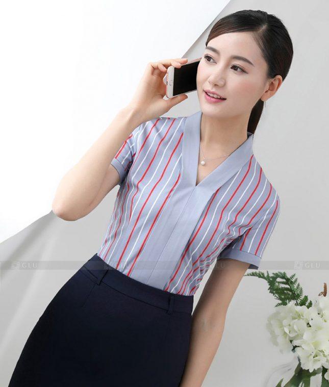 Dong Phuc Cong So Nu GS491 áo sơ mi nữ đồng phục công sở