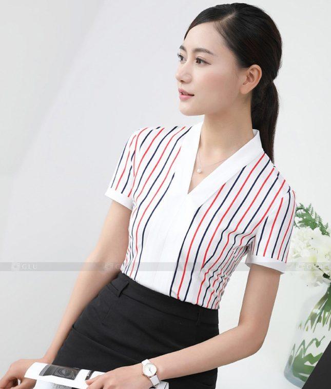 Dong Phuc Cong So Nu GS492 áo sơ mi nữ đồng phục công sở