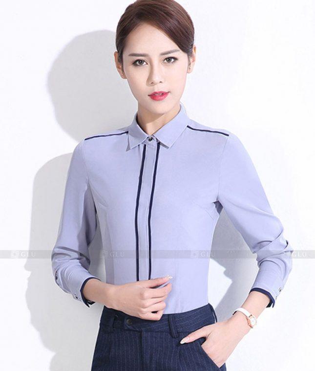 Dong Phuc Cong So Nu GS493 áo sơ mi nữ đồng phục công sở
